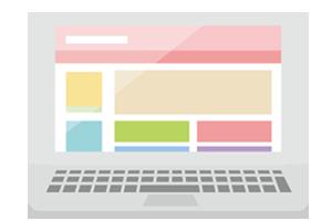 ホームページのデザインを選んで下さい
